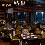 Spa Clover Restaurant at Khyber Himalayan Resort and Spa