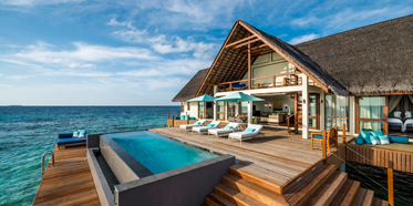 Sunrise Two Bedroom Ocean Suite at  Four Seasons Resort Maldives at Landaa Giraavaru