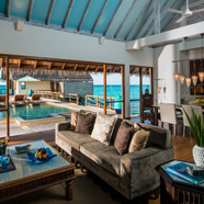 Two-Bedroom Land and Ocean Suite at Four Seasons Resort Maldives at Landaa Giraavaru