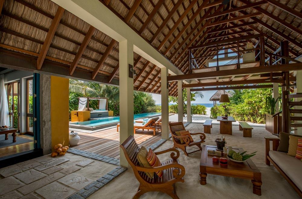Beach Villa at Four Seasons Resort Maldives at Landaa Giraavaru