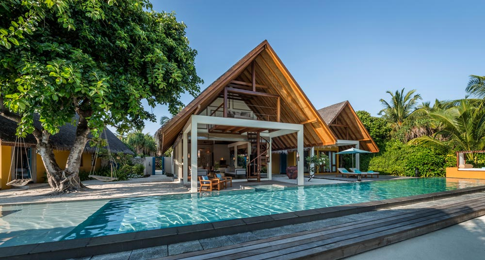 Two Bedroom Royal Beach Villa at Four Seasons Resort Maldives at Landaa Giraavaru