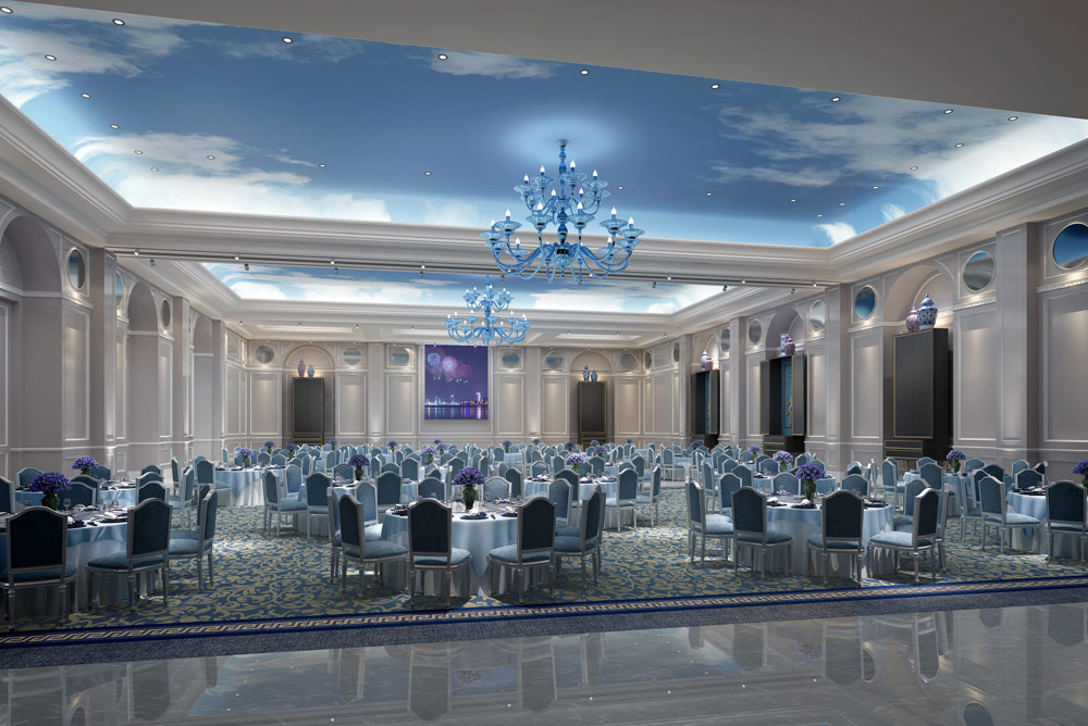 Grand Ballroom at The Azure Qiantang , Hangzhou