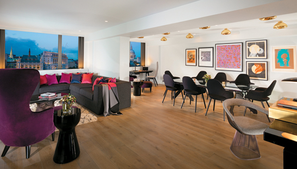 Mondrian London River View Apartments Suites