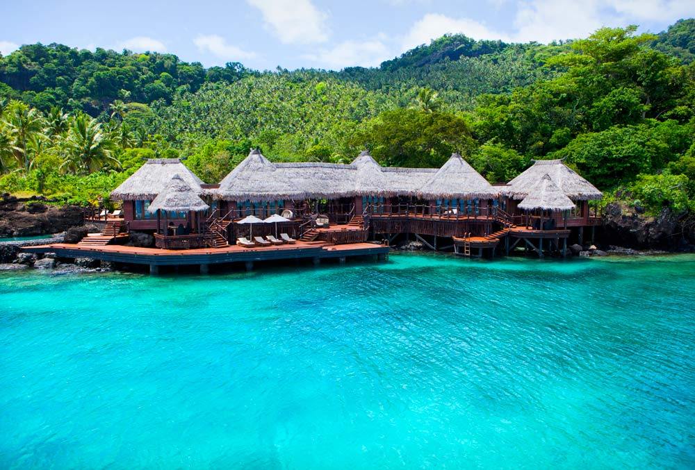 Overwater Villa at Laucala Island Resort