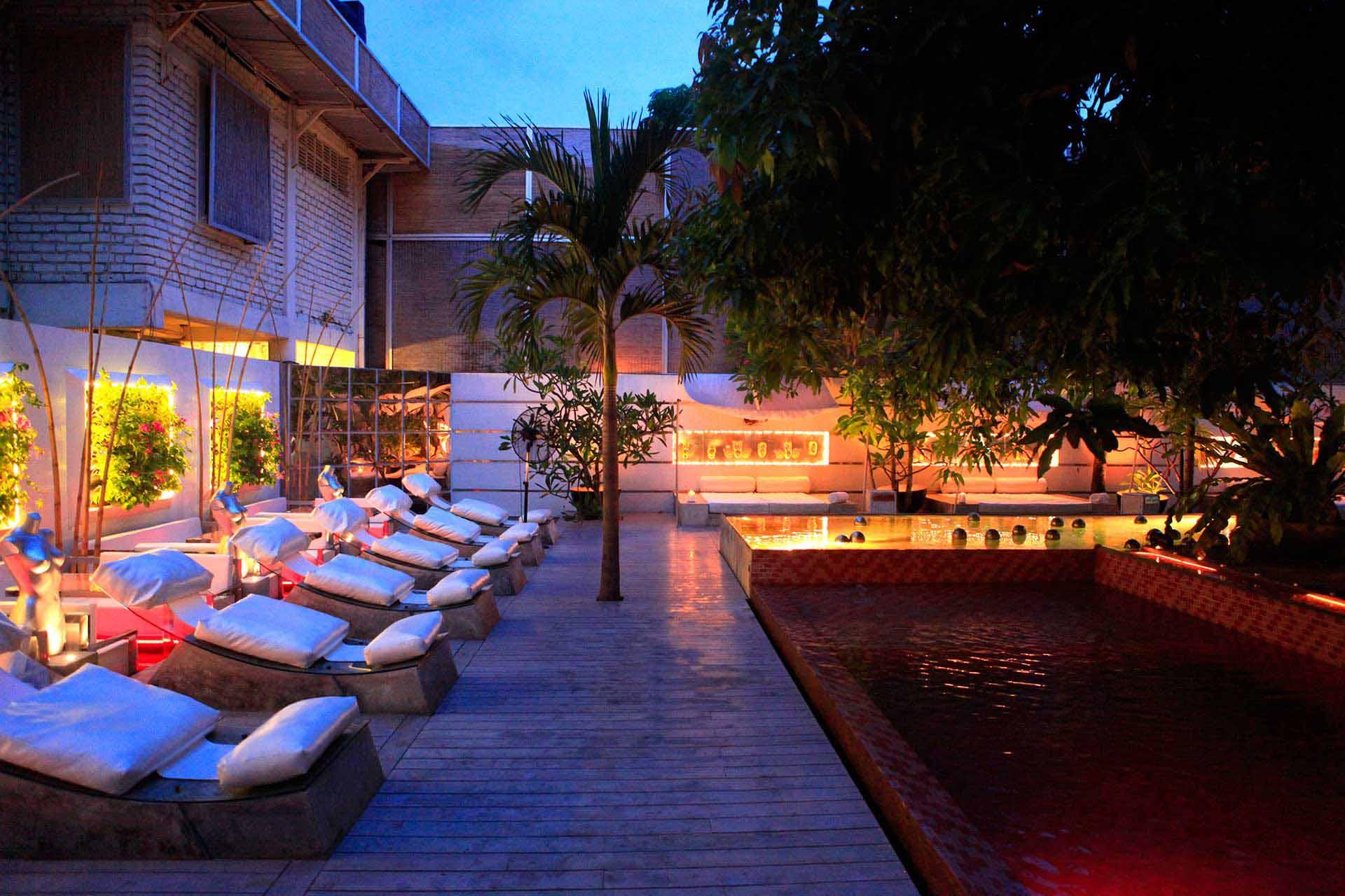 Pink Pool at Casa Colombo