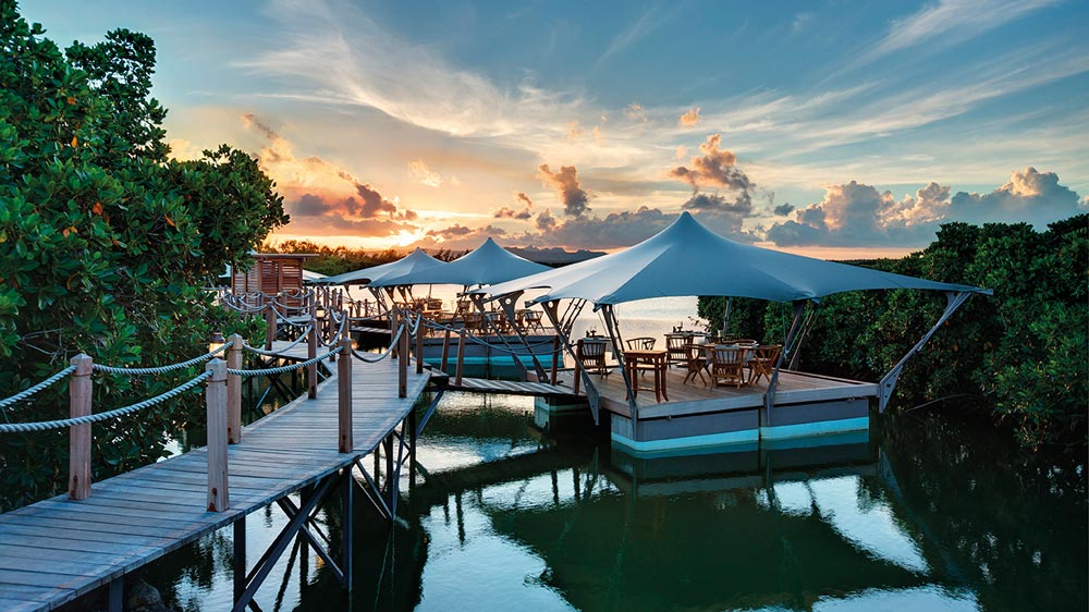 Constance Le Prince Maurice Le Barachois Floating Seafood Restaurant