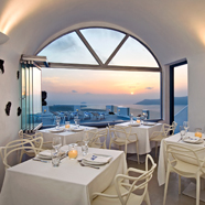 Pegasus Suites And Spa Dining Room, Santorini