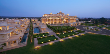 Hotel View of the ITC Grand Bharat