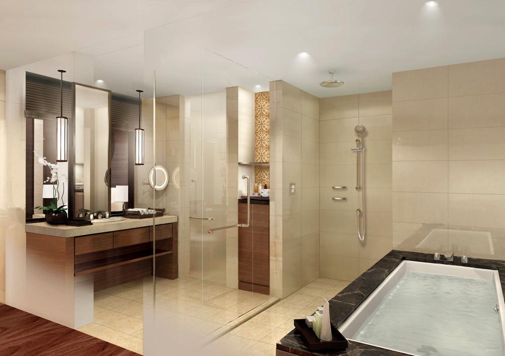 Best Bathrooms: Fairmont Jakarta | Five Star Alliance