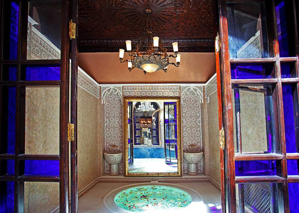 Spa at the Palais Sheherazade Hotel in Fez