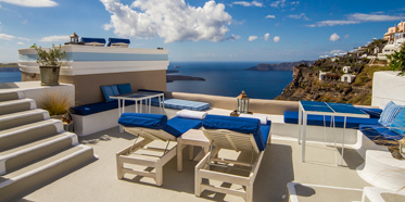 Grotto Suite Terrace at Iconic Santorini, Greece