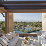 Royal Suite Terrace at Mandarin Oriental Marrakech, Morocco