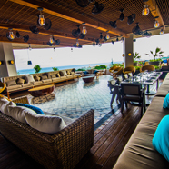 Main Hotel Dining and Lounge at Thompson Playa del Carmen, Mexico