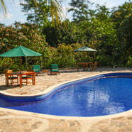 Pool at The Lodge and Spa at Pico Bonito, La Ceiba, Honduras